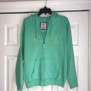 "Sweaters - Lightly worn zip up hoodie ""Marco Island""!"